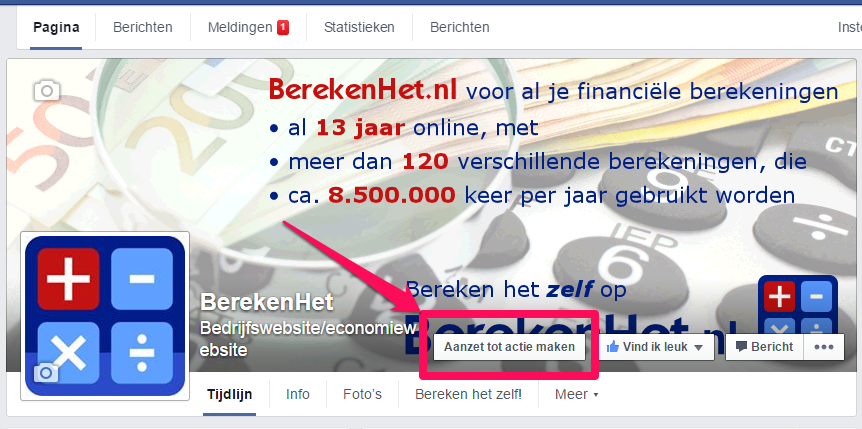 Facebook CTA button2